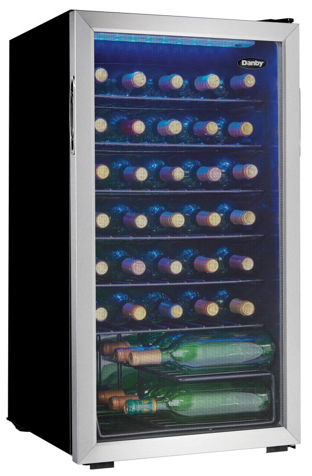 Danby 36 Bottle Wine Cooler - DWC036A1BSSDB-6