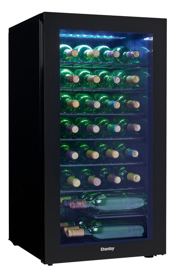Danby 36 Bottles Storage Wine Cooler - DWC036A2BDB-6