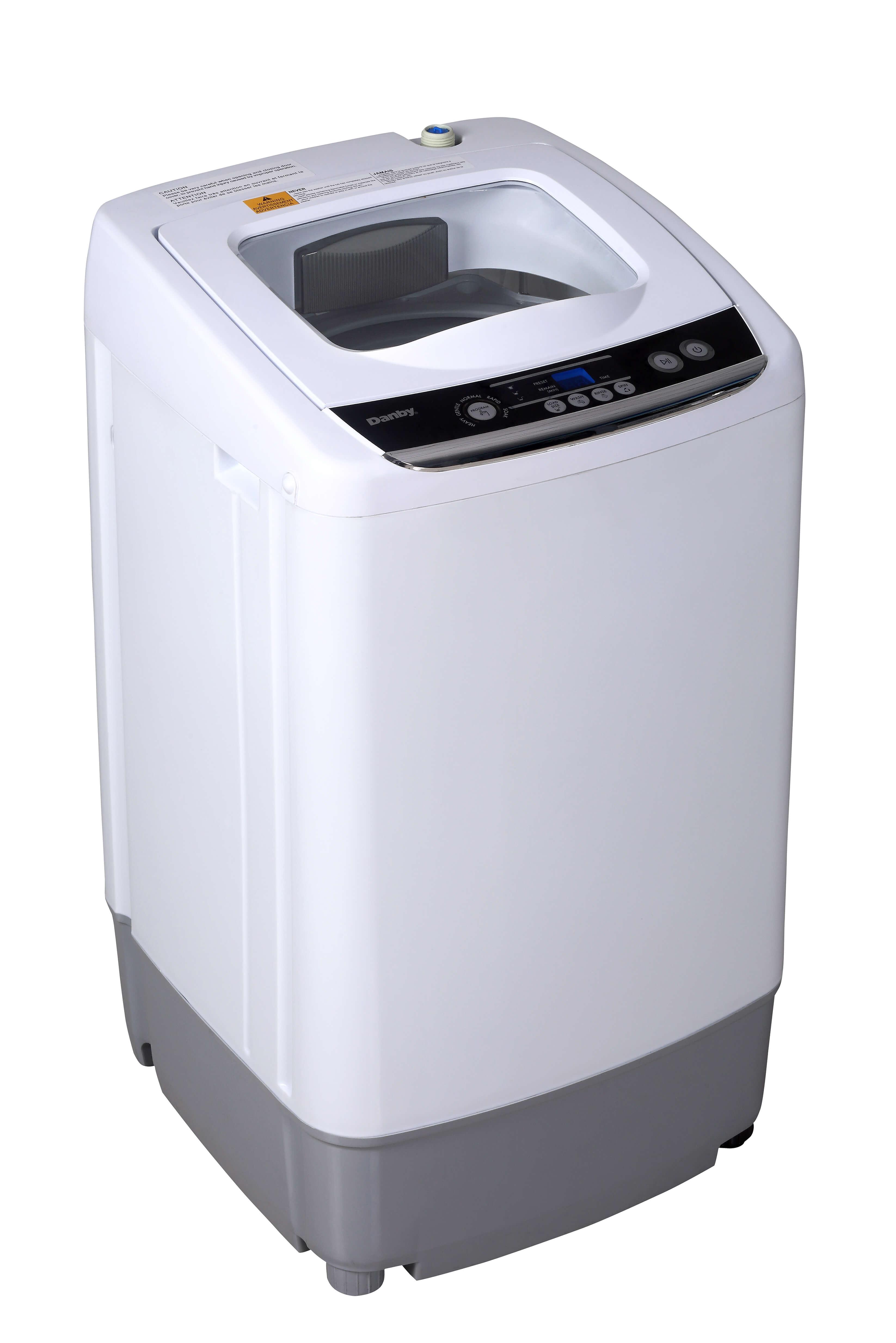 DWM030WDB-6   Danby Compact 0.9 Cubic Foot Top Load Washing ...