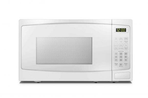Danby 0.7 cu ft. White Microwave with Convenience Cooking Controls - DBMW0720BWW