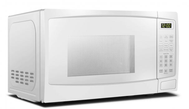 Danby 0.7 cuft White Microwave - DBMW0720BWW