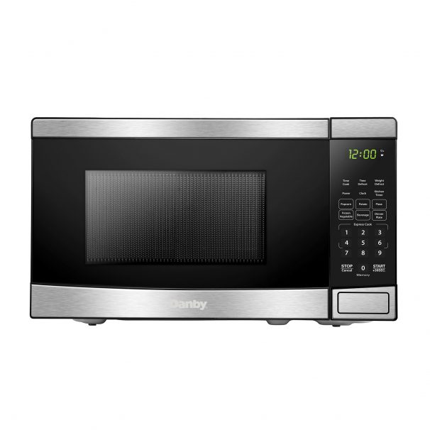 Danby 0.7 cu ft. Stainless Steel Microwave with Convenience Cooking Controls - DBMW0721BBS