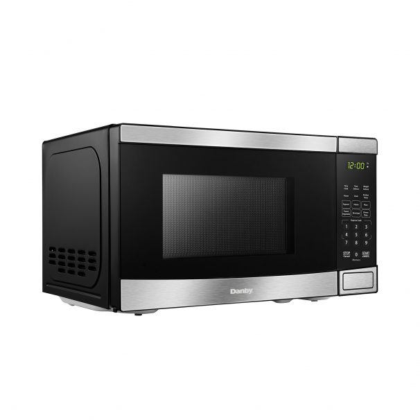 Danby 0.7 cuft Microwave with Stainless Steel front - DBMW0721BBS
