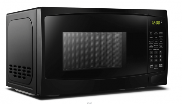 Danby 0.9 cuft Black Microwave - DBMW0920BBB