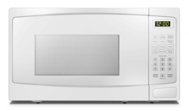 Danby 0.9 cuft White Microwave - DBMW0920BWW