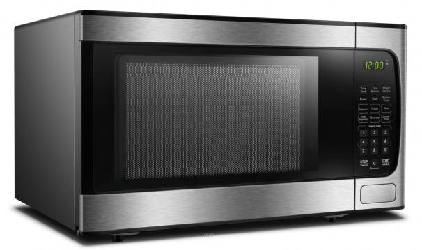 Danby 0.9 cu.ft Microwave with Stainless Steel front - DBMW0924BBS