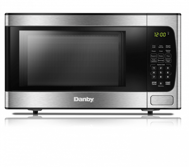 Danby 0.9 cuft Microwave with Stainless Steel front - DBMW0924BBS