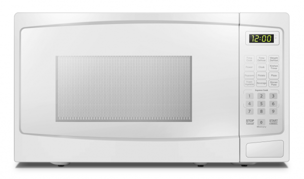 Danby 1.1 cu ft. White Microwave with Convenience Cooking Controls - DBMW1120BWW