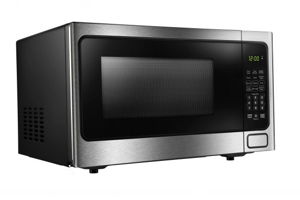 Danby Designer 1.1 cuft Microwave with Stainless Steel front - DDMW1125BBS