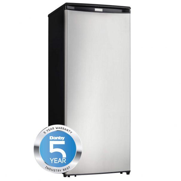 Danby Designer 8.5 cu. ft.  Upright Freezer - DUFM085A4BSLDD-6