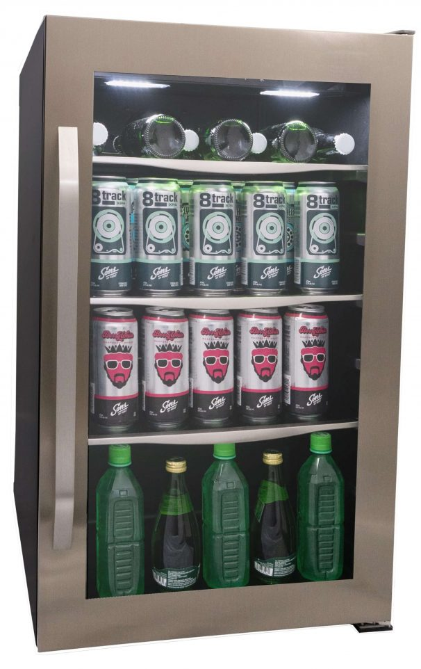 Danby 124 Can Freestanding, Beverage Centre in Stainless Steel - DBC122KD1BSS