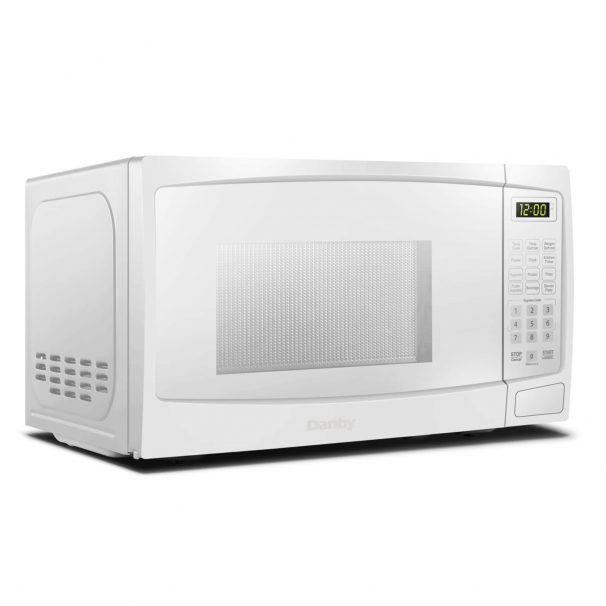 Danby 1.1 cuft White Microwave - DBMW1120BWW