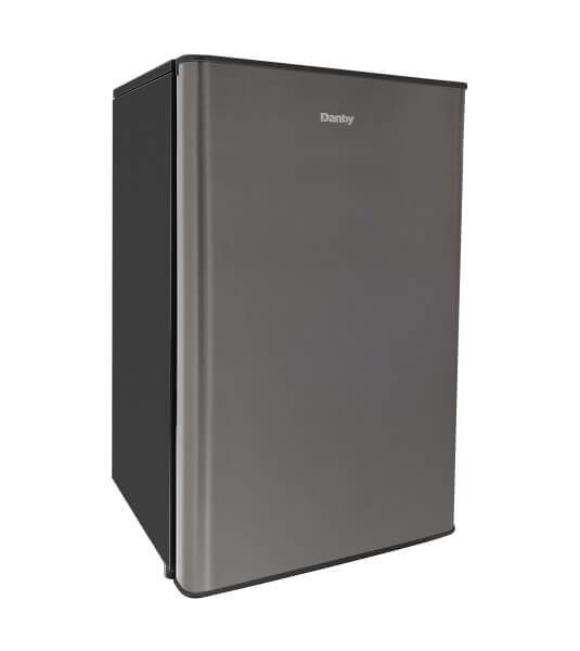 Danby 4.4 cu. ft. compact refrigerator stainless look - DAR044A9SLDB