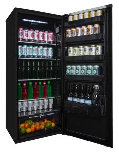 Danby Contemporary Classic Apartment Size Refrigerator with reversible door