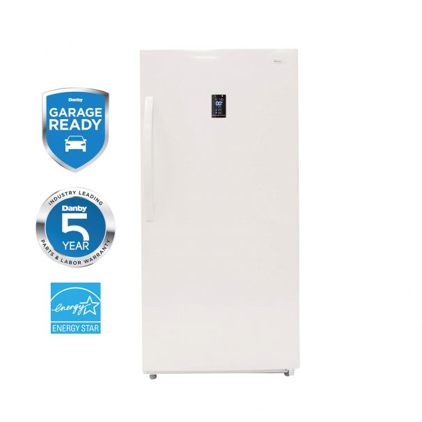Danby Designer 14 cu. ft. Convertible Upright Freezer or Refrigerator - DUF140E1WDD