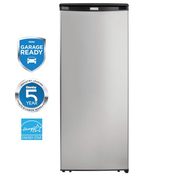 Danby Designer 8.5 cu. ft.  Upright Freezer - DUFM085A4BSLDD