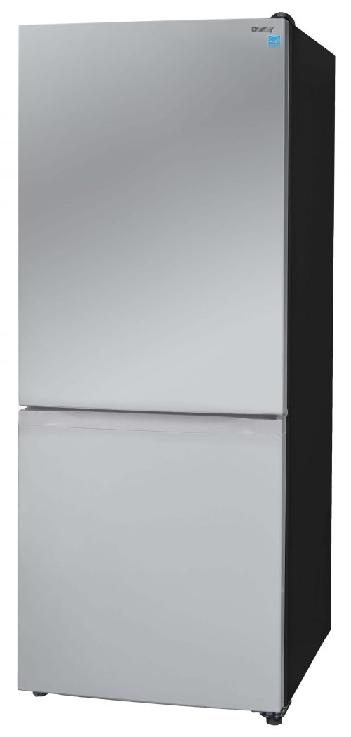 Danby 10 cu.ft Bottom Mount Refrigerator - DBMF100C1SLDB