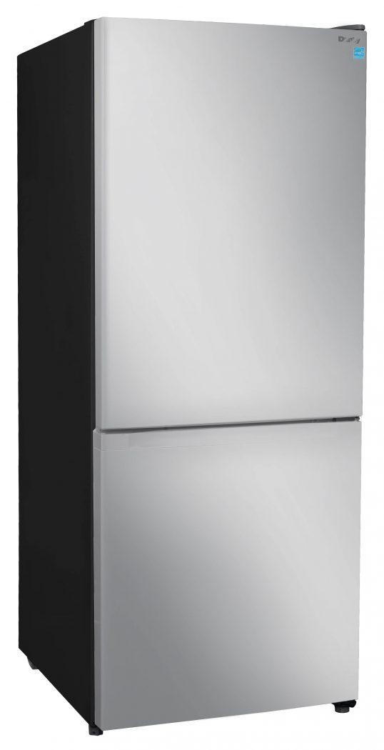 Danby 10 cu.ft Bottom Mount Refrigerator - DBMF100C1SLDB