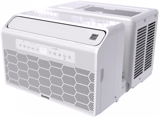 Danby 10,000 BTU U-Shaped Inverter Window Air Conditioner - DAC100B6IWDB-6