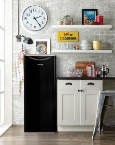 Apartment Size Refrigerator (DAR110A2LDB)