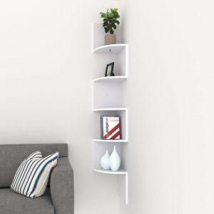 Corner Shelving for small spaces