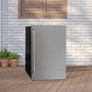 Danby 4.4 cu. ft. Freestanding Stainless Steel Outdoor Refrigerator