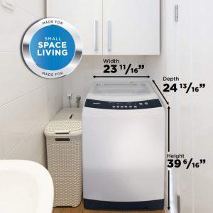 Danby 3.0 cu.ft Machines à laver le linge DWM12C1WDB-6